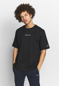 Champion Rochester - ROCHESTER CREWNECK - T-shirt basic - black - 0