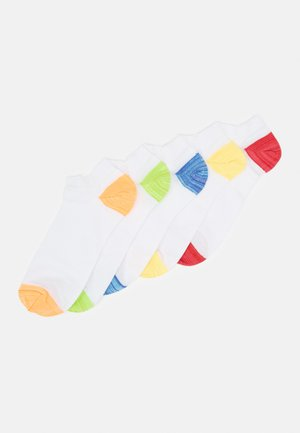 HEEL AND TOE 5 PACK - Trainer socks - white