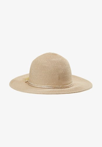 SHADY LADY COLLAPSIBLE FEDORA - Hat - gold