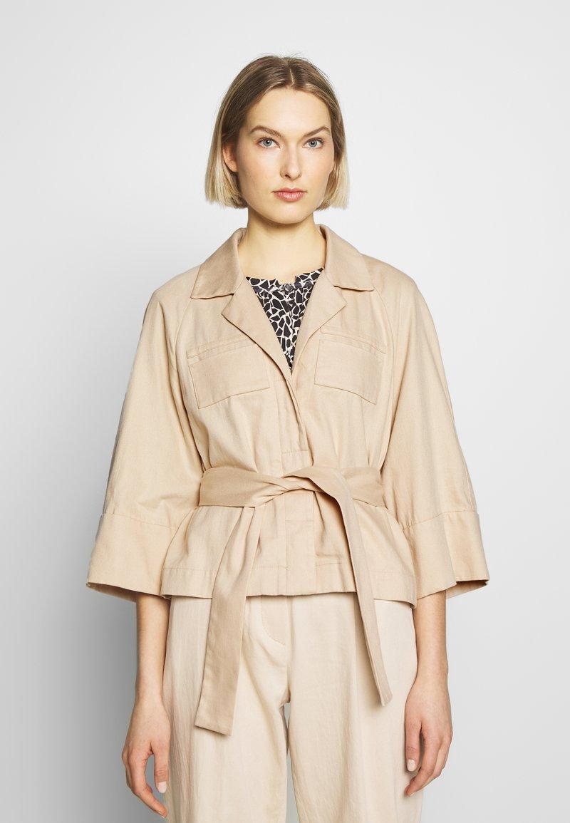 RIANI - Summer jacket - pale almond