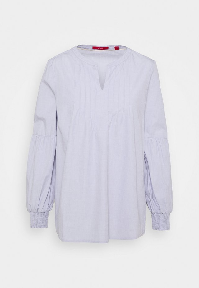 Langærmede T-shirts - purple haz