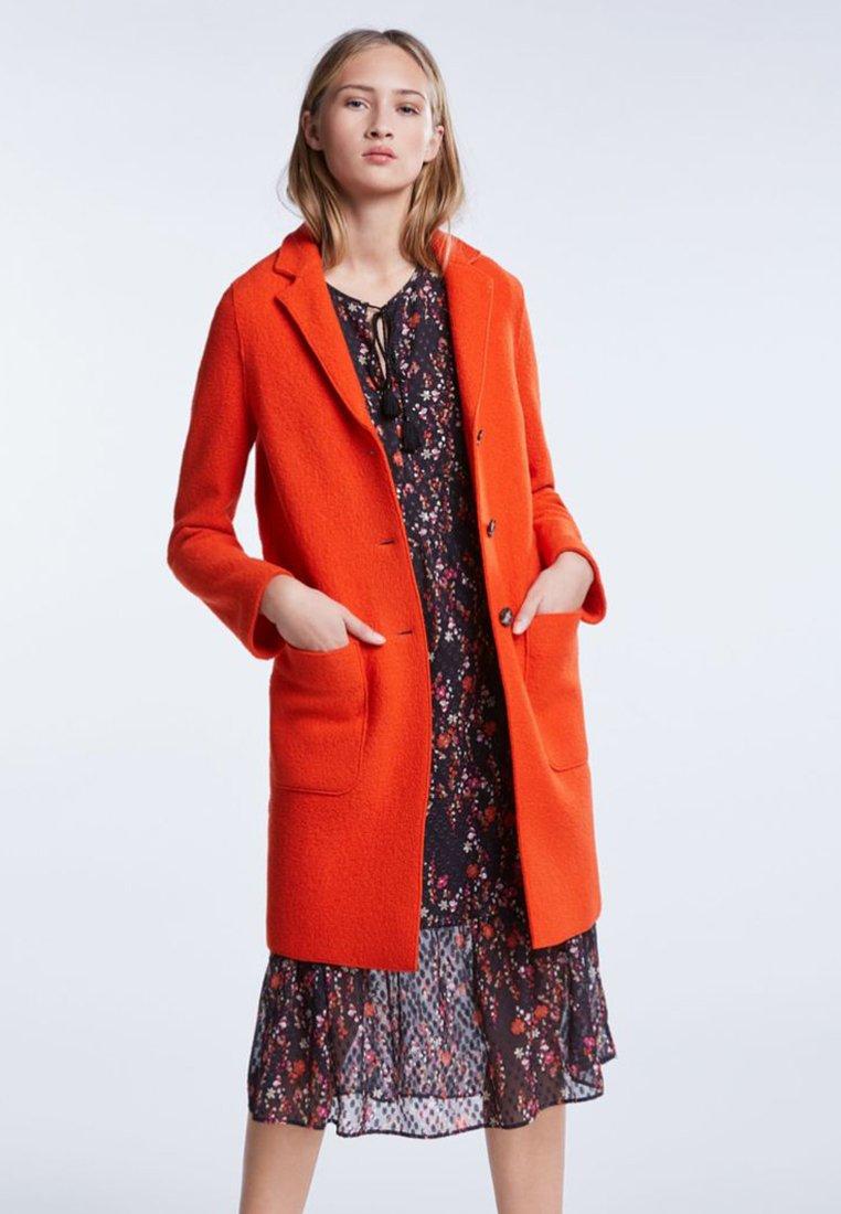 SET - Classic coat - poinciana