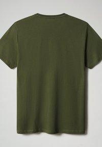 Napapijri - SALLAR - Print T-shirt - green cypress - 4