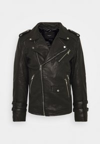 Be Edgy - BEJACE - Leather jacket - black - 0