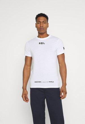 MAKAI TEE - Print T-shirt - white