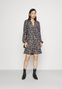JDY - JDYLION LAYER DRESS - Day dress - black/multicolour