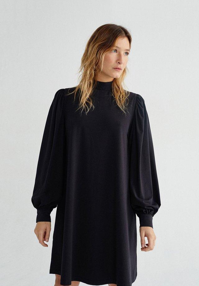 Flora - Day dress - black