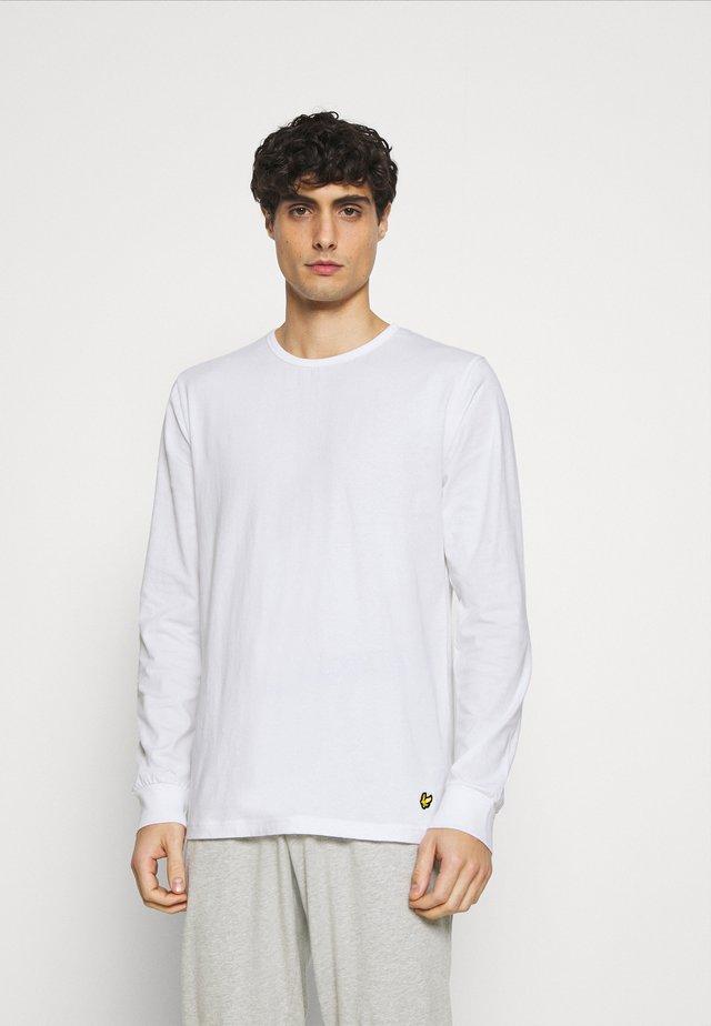 STANLEY SET - Pyjama - bright white/grey