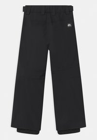 Quiksilver - ESTATE UNISEX - Snow pants - true black - 1