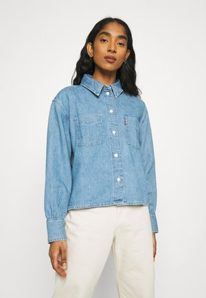 ZOEY PLEAT UTILITY - Button-down blouse - stay cool