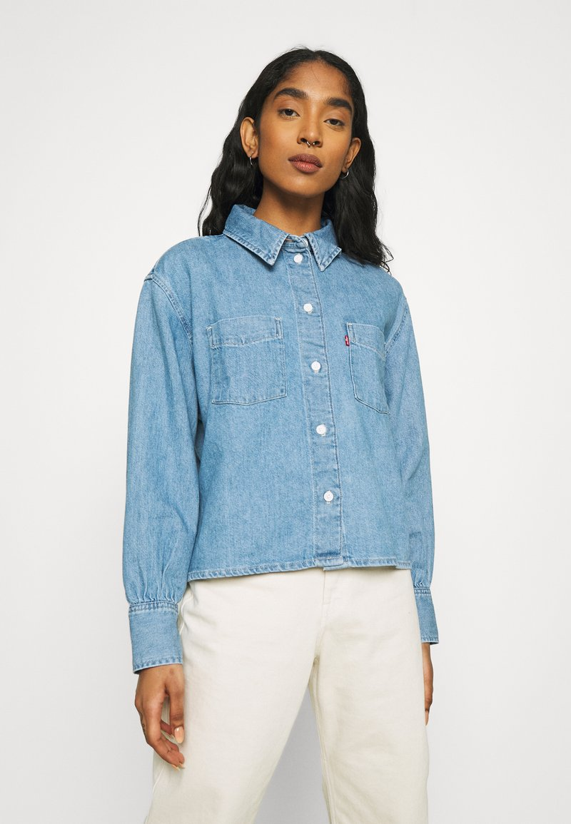 Levi's® - ZOEY PLEAT UTILITY - Skjortebluser - stay cool