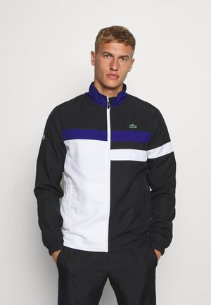 TENNIS TRACKSUIT - Survêtement - black/white/cosmic
