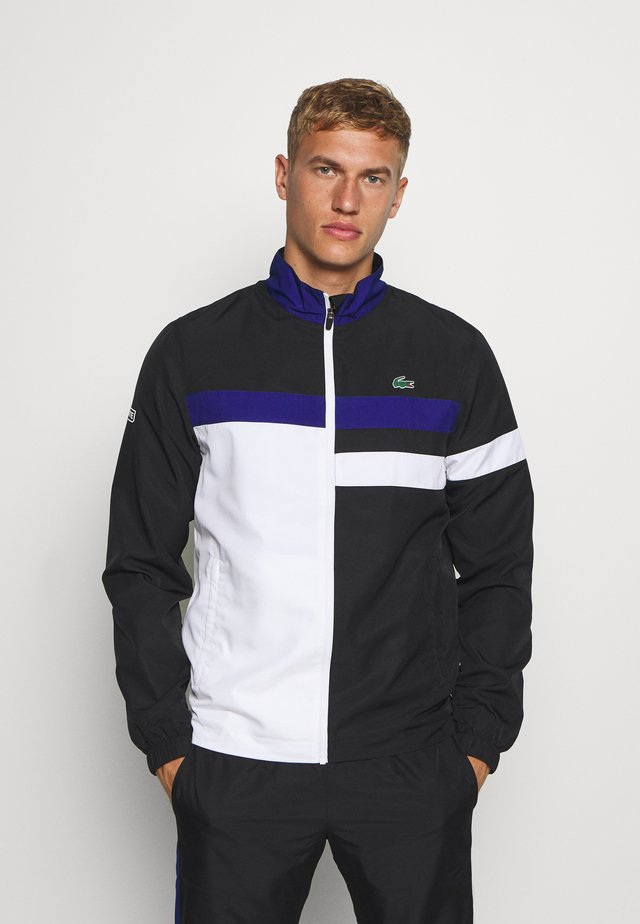 TENNIS TRACKSUIT - Trainingspak - black/white/cosmic