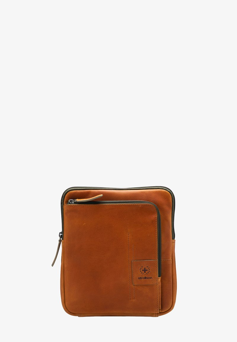 Strellson Premium - HYDE PARK - Across body bag - cognac