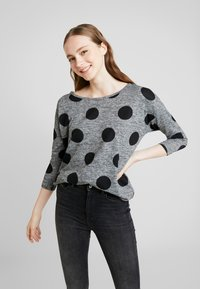 ONLY - ONLELCOS - Jumper - dark grey melange - 0