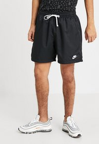 Nike Sportswear - FLOW - Shorts - black/white - 0