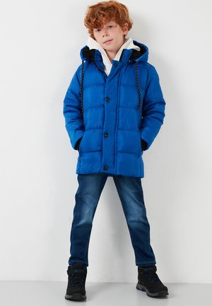 Zimní bunda - saxe blue