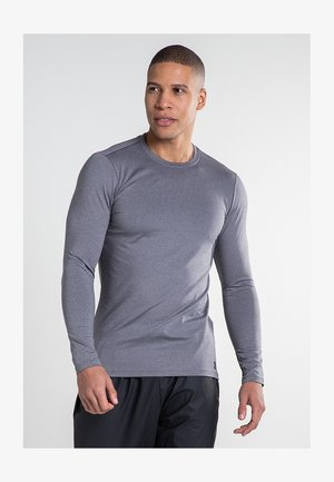 UA COLDGEAR FITTED CREW - Long sleeved top - grey