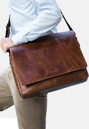 SPENCER  - Laptop bag - light-brown