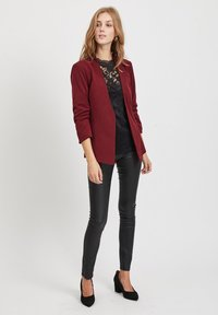 Vila - VIHER  - Blazer - dark red - 1
