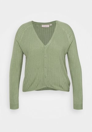CARAMALIA CARDIGAN  - Cardigan - hedge green