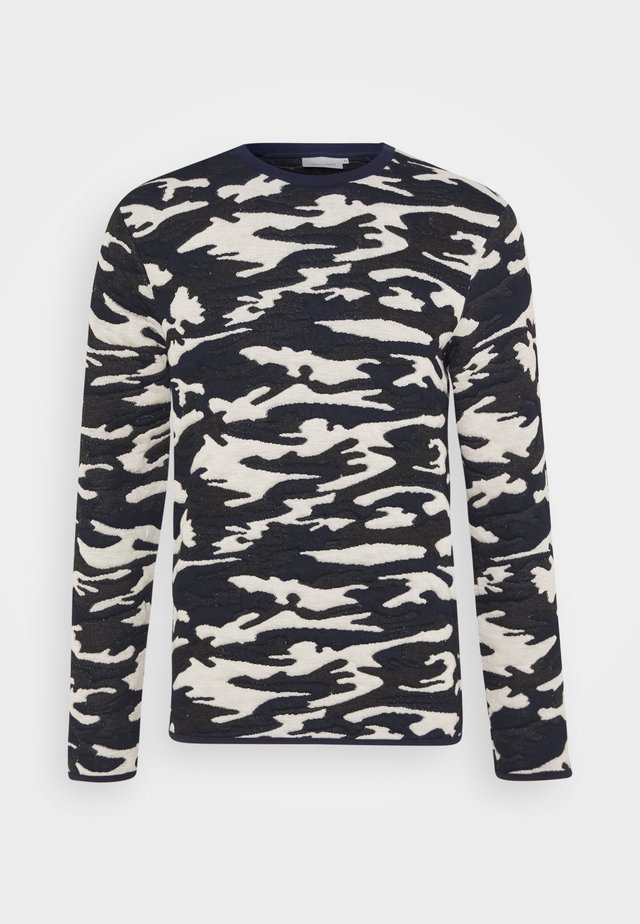 SEBASTIAN CREW NECK  - Sweatshirt - navy blazer