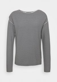 Marc O'Polo DENIM - LONG SLEEVE CREW NECK - Jumper - multi/black - 0
