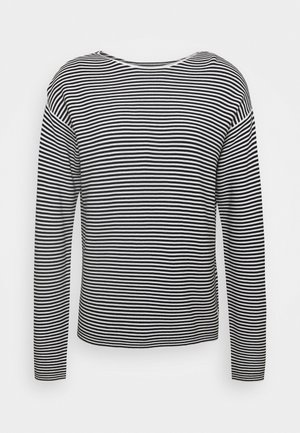 LONG SLEEVE CREW NECK - Jumper - multi/black