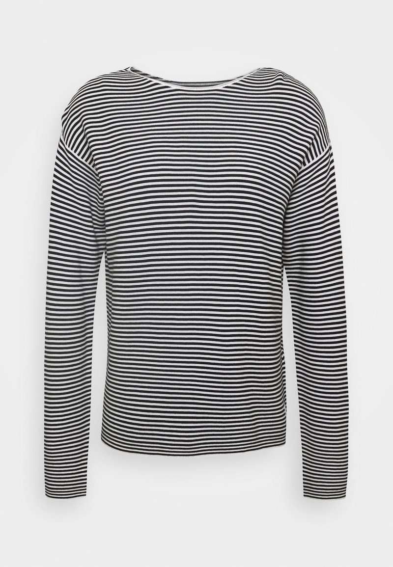 Marc O'Polo DENIM - LONG SLEEVE CREW NECK - Jumper - multi/black