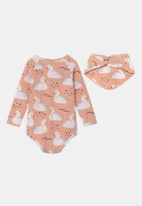 Walkiddy - GIFT PRINCESS SWANS SET - Long sleeved top - pink - 1