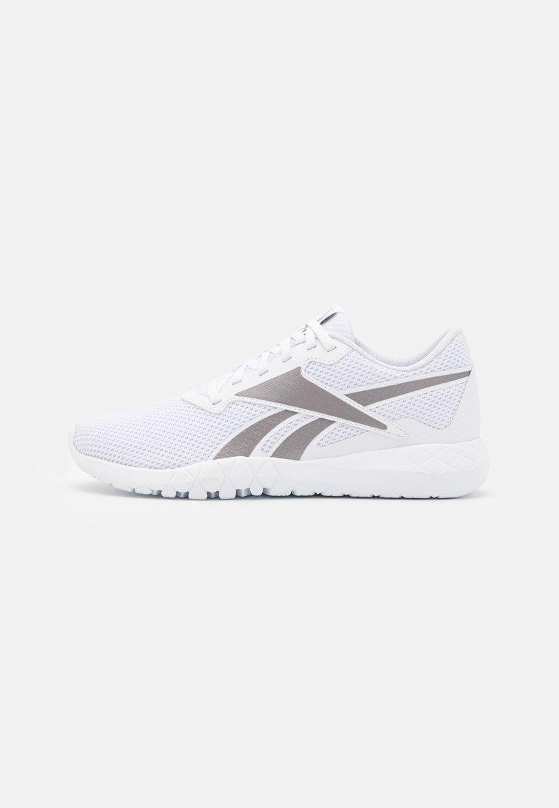 Reebok - FLEXAGON ENERGY TR 3.0 MT - Sports shoes - footwear white/tech metallic