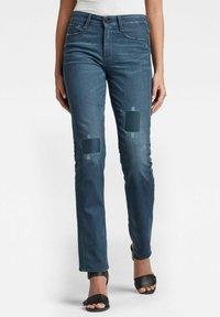 G-Star - NOXER - Straight leg jeans - dark blue - 0