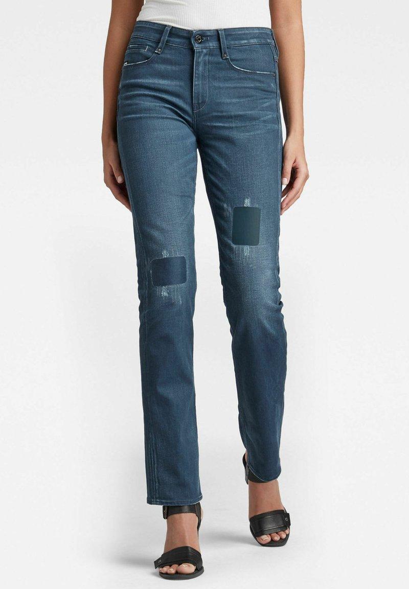 G-Star - NOXER - Straight leg jeans - dark blue