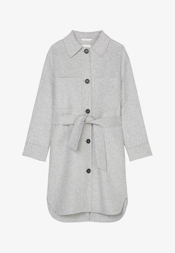 Classic coat - foggy melange