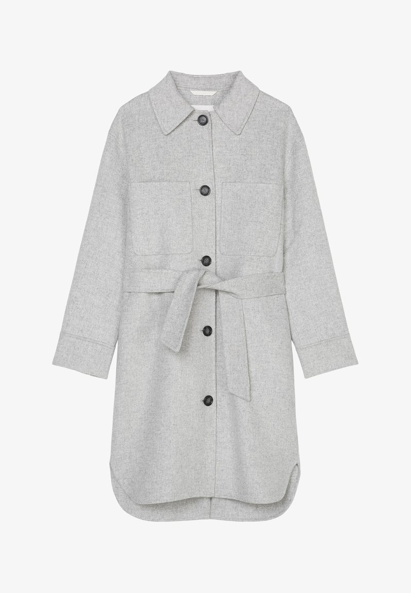 Marc O'Polo - Classic coat - foggy melange