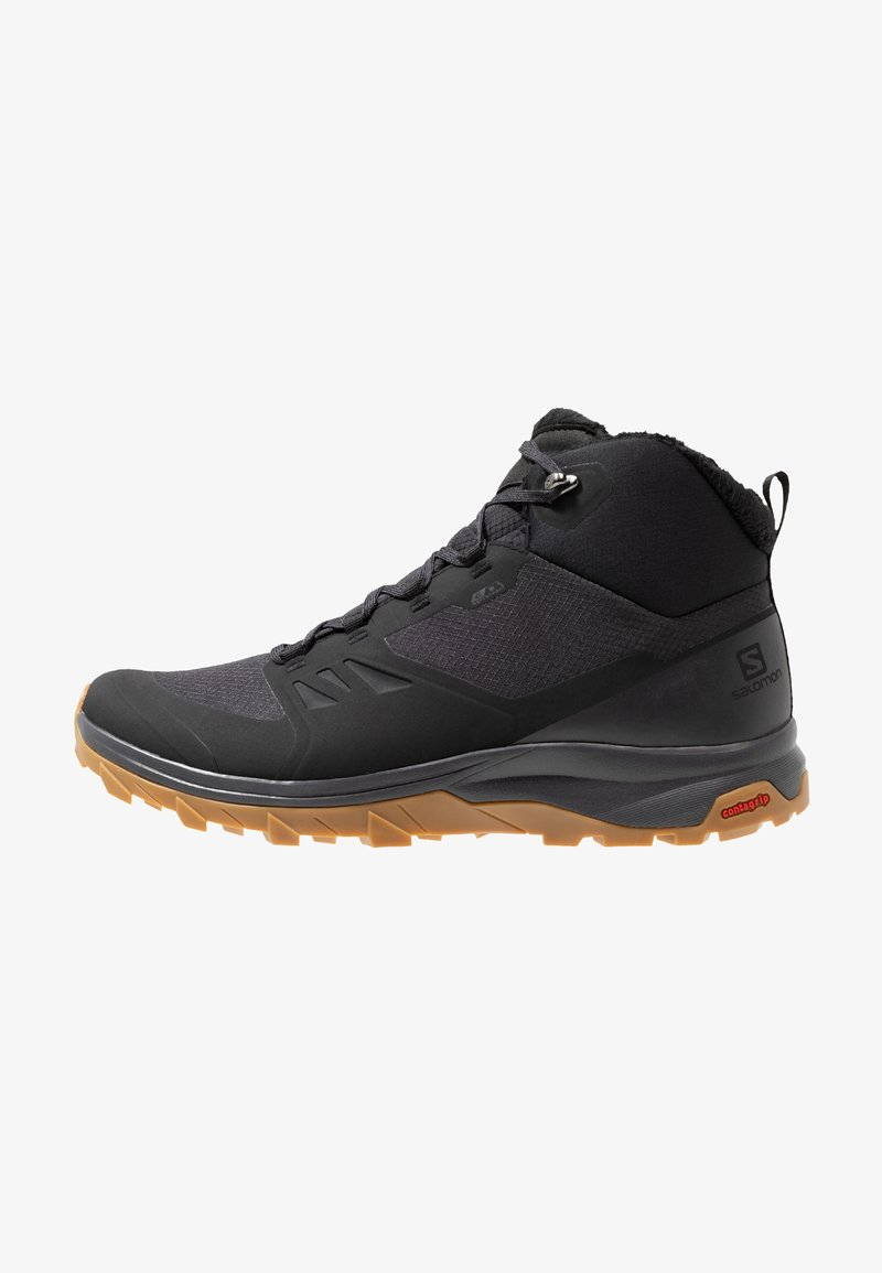 Salomon - OUTSNAP CSWP - Winter boots - black/ebony