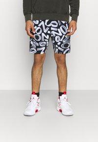 Jordan - ZION WILLIAMSON SHORT - Sports shorts - black/light smoke grey/white - 0