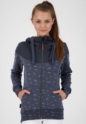 PALINAAK - Zip-up sweatshirt - marine