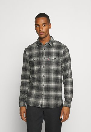 JACKSON WORKER - Shirt - ametrine jet black