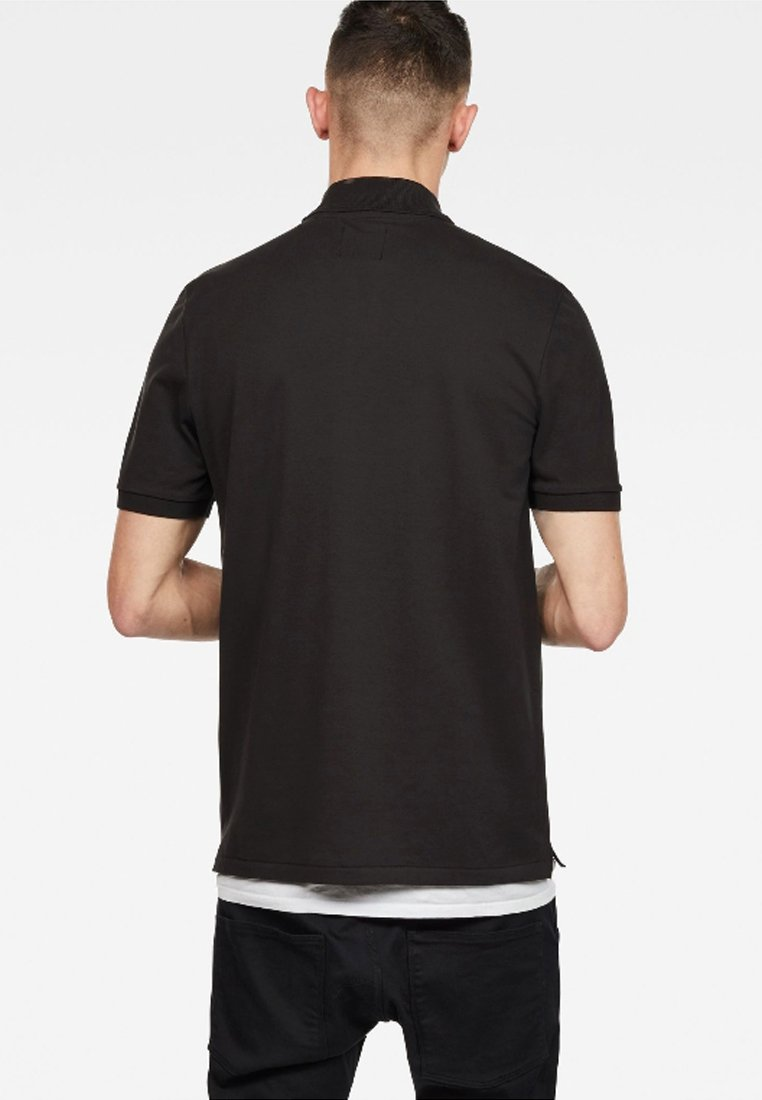 G-Star DUNDA - Polo shirt - black rLOf2