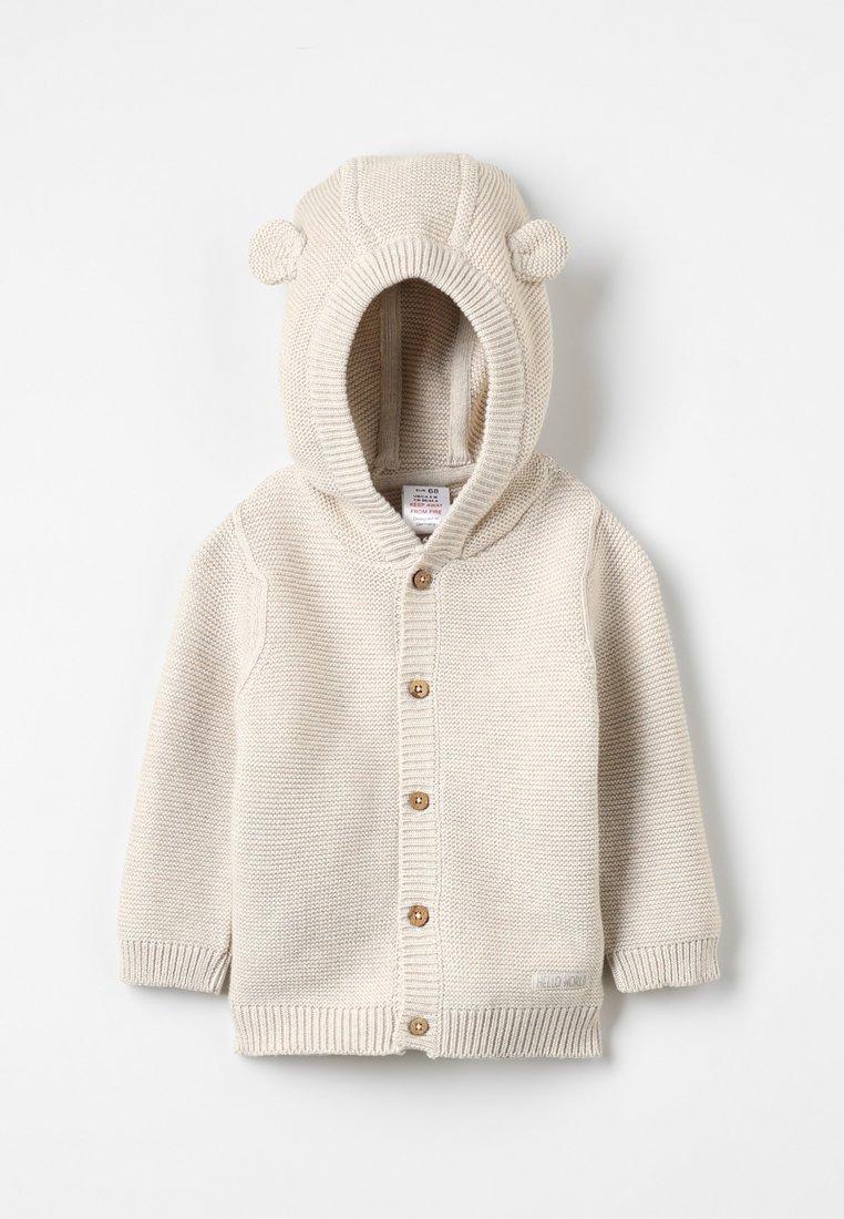 Jacky Baby - HELLO WORLD - Cardigan - beige