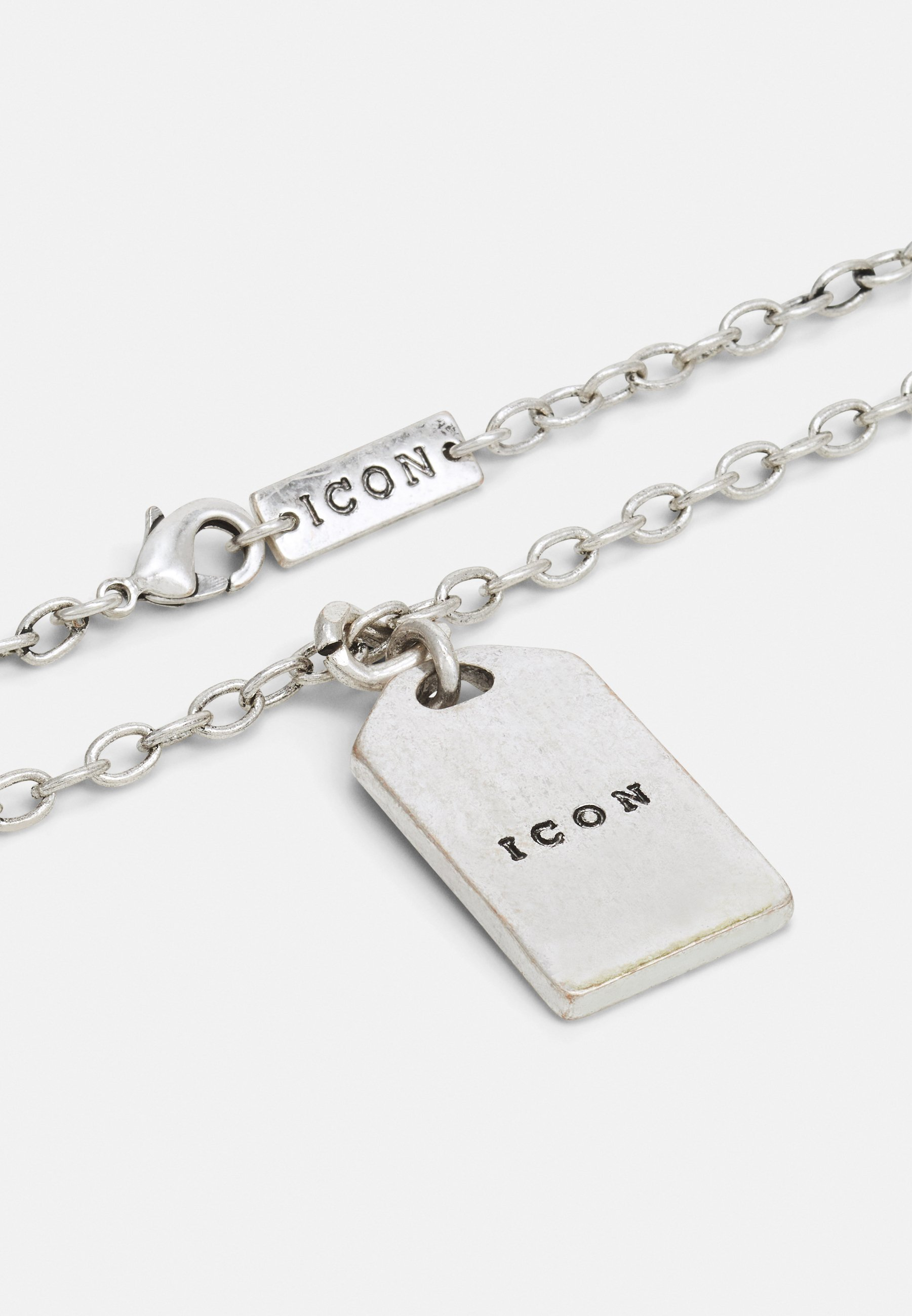 Homme WOVEN TAG NECKLACE - Collier