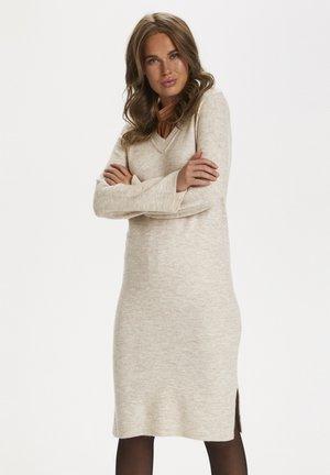 ELOUISE - Jumper dress - beige melange