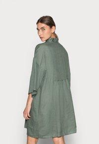 ARKET - Shirt dress - sage green - 2