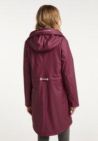 Schmuddelwedda - Waterproof jacket - bordeaux - 2