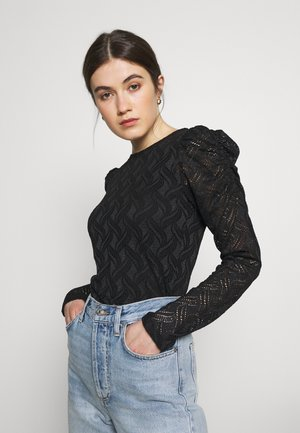 TINDRA - Blouse - black