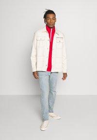 Tommy Jeans - OVERSIZE WORKWEAR JACKET - Denim jacket - work ecru rig - 1
