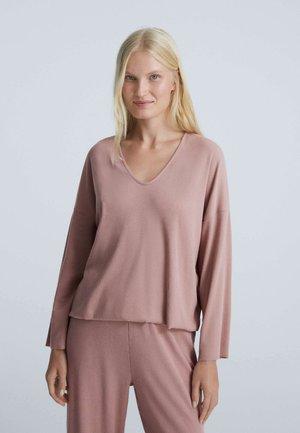 COMFORT LONG-SLEEVED - Pyjama top - pink