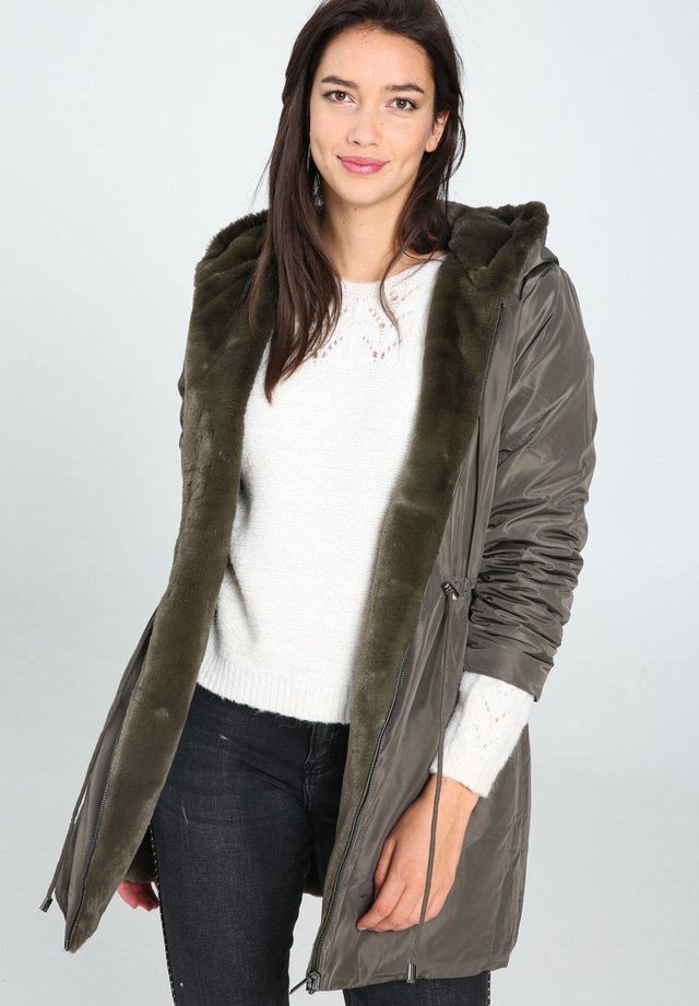 Winterjas - khaki