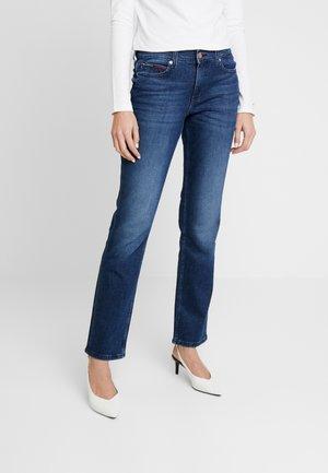 MID RISE - Jeansy Straight Leg - daisy mid com